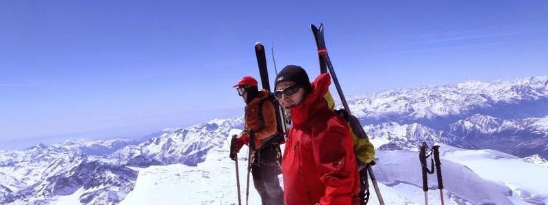 Raid Ski de randonnée en Gressoney (Mont Rose versant italien) du 18 au 23 avril 2015